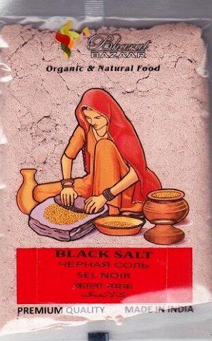 Соль чёрная (Black Salt / Kala Namak) Bharat Bazaar 100 гр.