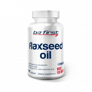 Пищевая добавка Be First Flaxseed Oil 90 caps