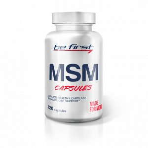Для суставов и связок Be First MSM 120 capsules