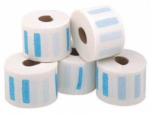 Воротнички бумажные с синей липучкой 500 шт/уп Dewal