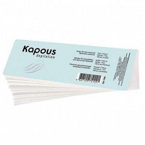 Полоски для депиляции 100 шт/уп Kapous 7х20 см