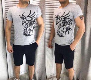 Костюм футболка, шорты