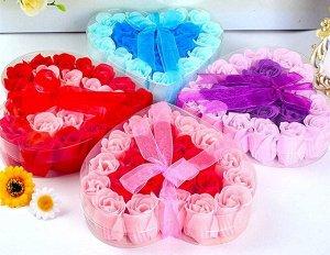 Набор из розы мыло 18 шт