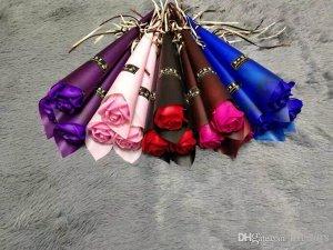Роза мыло штучная