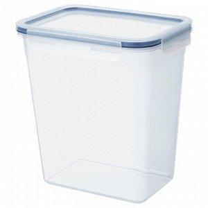 ИКЕА/365+ Контейнер для продуктов с крышкой, прямоугольн формы, пластик, 4.2 л.