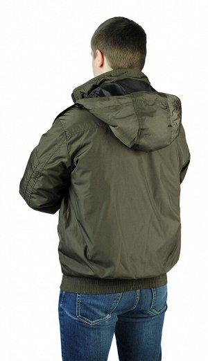 "Куртка демисезонная ""БОМБЕР"" цвет: Хаки"