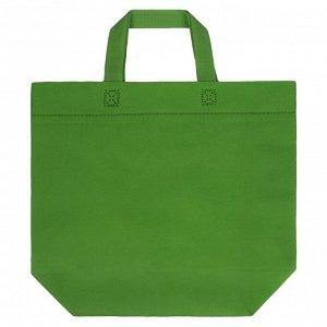 Сумка для покупок Span 3D, зеленая