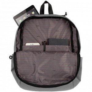 Рюкзак для ноутбука Burst Locus, серый