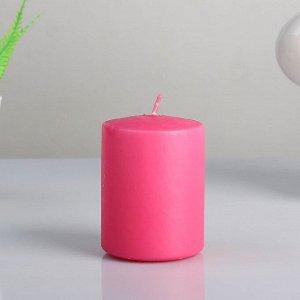 "Свеча- цилиндр ""WILD ORCHID "", ароматизированная, парафин, 6?8 см"