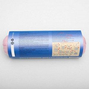 Аппликатор игольчатый «Валик», 90 колючек, розовый, 38х10 см