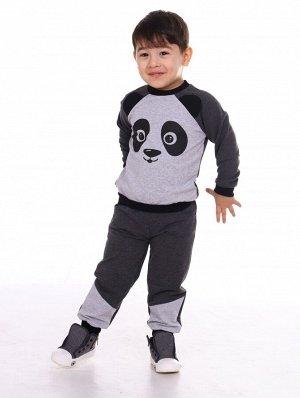 Костюм Состав: 80%хлопок, 20%п/э; Материал: Футер Симпатичный и удобный костюм на мальчика.