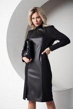 Платье Дайна №1.Цвет:черный