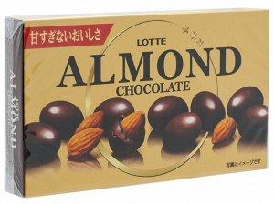 Миндаль в шоколаде, Lotte, 86гр.,