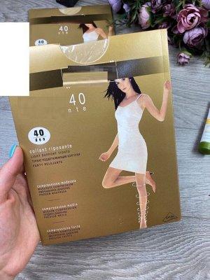 Женские колготки 40 Ден натур. беж