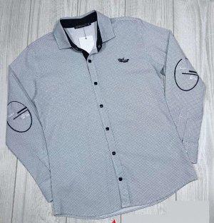 Рубашка Серый 1 ряд