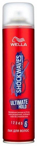 Wella Shockwaves Лак для волос ULTIMATE HOLD 400 мл