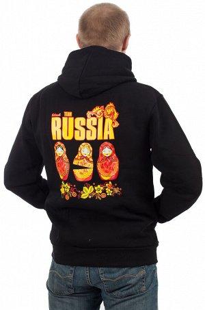 Толстовка «Матрёшки» – классная вещь в русском стиле! №25