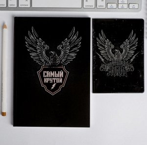 Набор обложка для паспорта и ежедневник