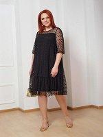 Платье 0028-8 черный
