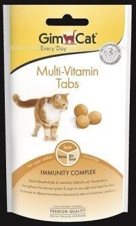 """GIMCAT Витамины для кошек для поддержания иммунитета """"Мультивитамин табс"""" 40 г"""