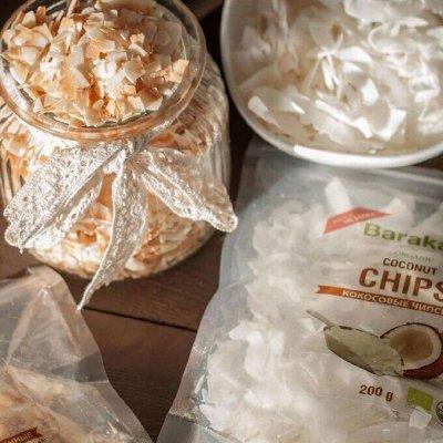Кокосовые чипсы, много натуральных масел