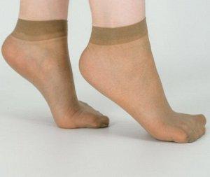 Носки капроновые беж.