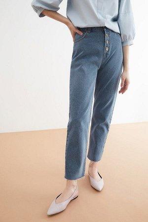 Брюки джинсовые жен. MANCHU_SS21 голубой