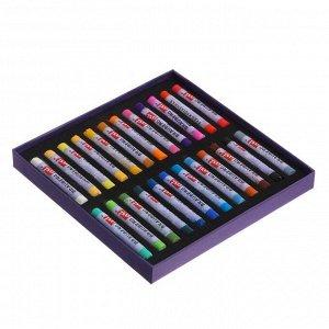 Пастель сухая Soft набор 24 цветов, Brauberg Art Classic