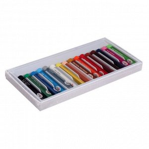 """Пастель масляная, набор 16 цветов, Гамма """"Студия"""", d-8мм, l-65мм, в картонной коробке"""