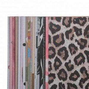 Набор бумаги для скрапбукинга Fashion and beauty, 18 листов, 20 ? 20 см