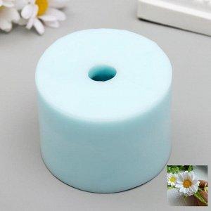 """Силиконовая форма """"Махровая ромашка"""" диаметр  около 5,5 см высота 4,5 см вес в мыле  27 гр"""