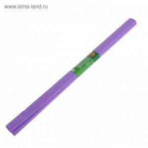 Бумага креповая поделочная гофро Koh-I-Noor 50*200 см 9755/28 сиреневый, в рулоне