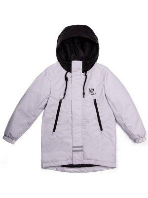 101011/2 (серый) Куртка для мальчика