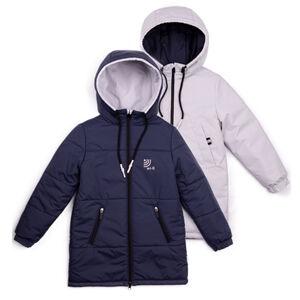 101010/2 (красный) Пальто для мальчика
