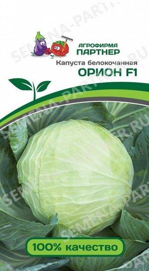 Семена Капуста белокочанная позднеспелая Орион F1