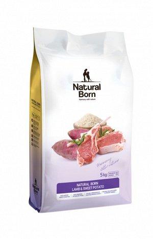 Lamb & Sweet Potato (Баранина и Сладкий картофель) для собак от 3 мес 5 кг