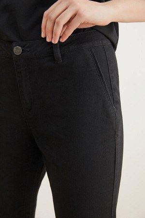 Брюки джинсовые жен. SAGA20 черный