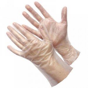 GWARD Перчатки прозрачные из термопластэластомера размер L 100 пар