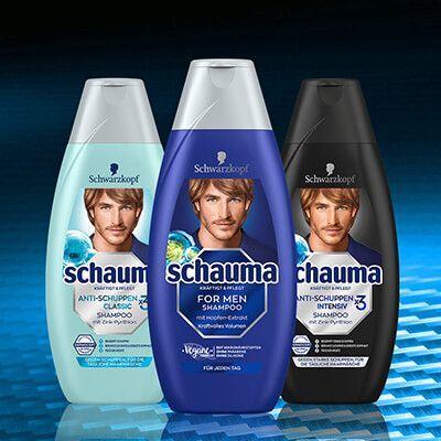 Для любимых мужчин-Gillette, Арко, Nivea. Пены, гели, станки — Шампунь SCHAUMA — Шампуни