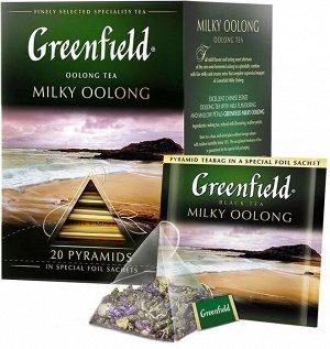 Оолонг чай в пирамидках Greenfield Milky Oolong, 20 шт