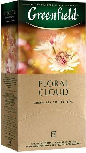 Чайный напиток в пакетиках Greenfield Floral Cloud, 25 шт (оолонг с ароматом бузины)