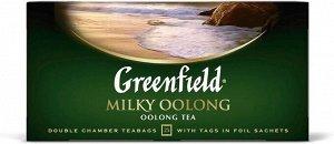 Чай в пакетиках Greenfield Milky Oolong, 25 шт (улун)