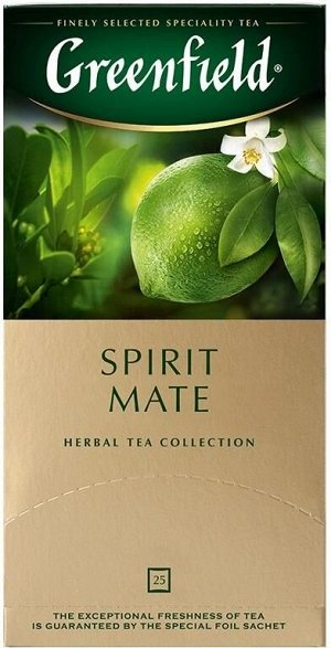 Чайный напиток в пакетиках Greenfield Spirit Mate, 25 шт