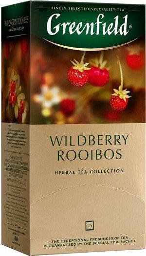 Чайный напиток в пакетиках Greenfield Wildberry Rooibos, 25 шт