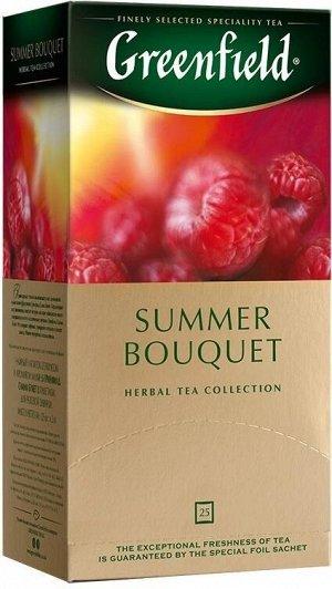 Чайный напиток в пакетиках Greenfield Summer Bouquet, 25 шт