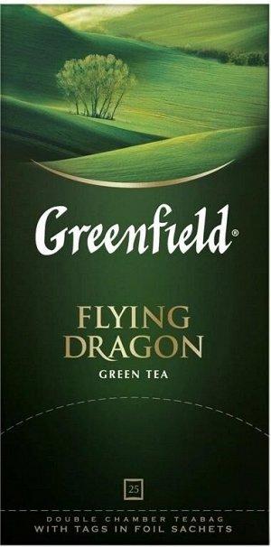 Чай Гринфилд Flying Dragon пакет термосаше 2г