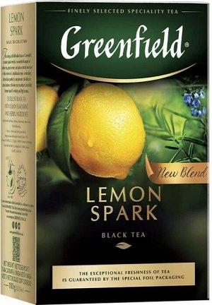 Чай черный Greenfield Lemon Spark, листовой, 100 г