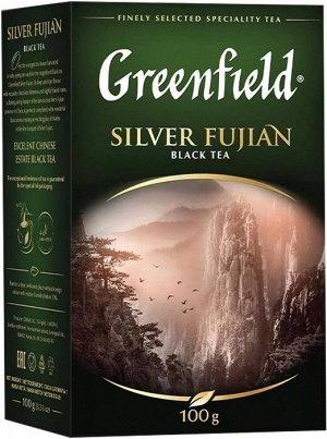 Черный чай листовой Greenfield Silver Fujian, 100 г