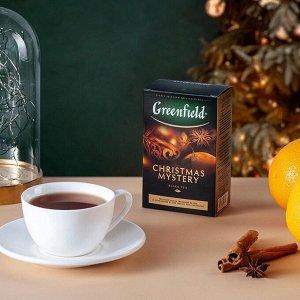 Черный чай листовой Greenfield Christmas Mystery, 100 г