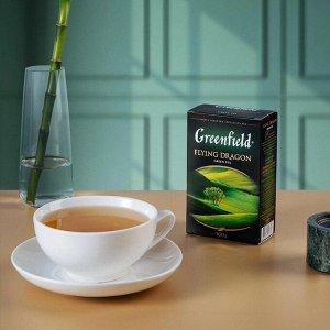 Зеленый чай листовой Greenfield Flying Dragon, 100 г